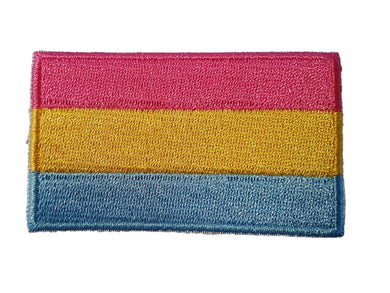 Pan Sexual Pride LGBT Iron On Patch Sew On transfer LGBT