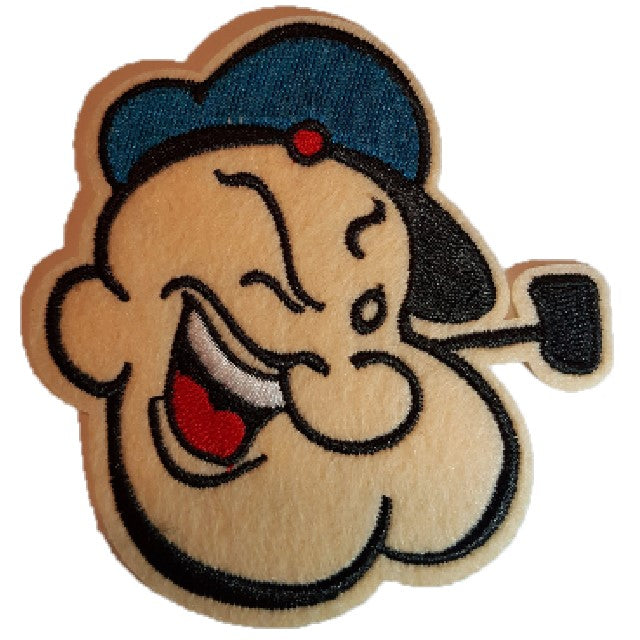 Popeye the sailor man iron on patch sew on transfer