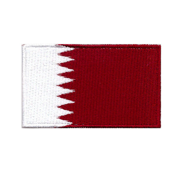 Qatar Country Flag Iron On Patch Sew On transfer