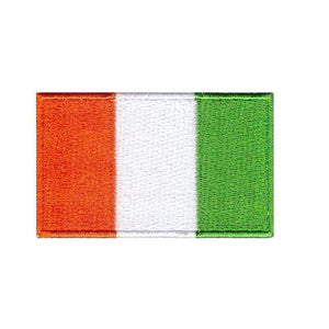 ivory coast national flag Iron sew on patch transfer flag