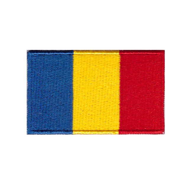 Romania National flag country iron on patch sew on transfer