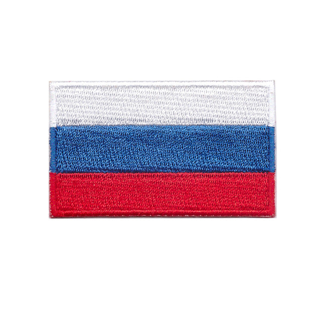 Russia Country Iron On Patch Sew On Transfer