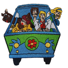 Scooby Doo and the Mystery machine Iron On Patch Sew on Transfer