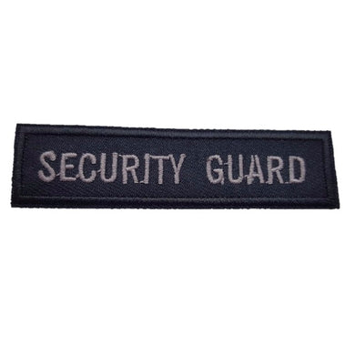 Security Guard Iron Patch Sew On Transfer