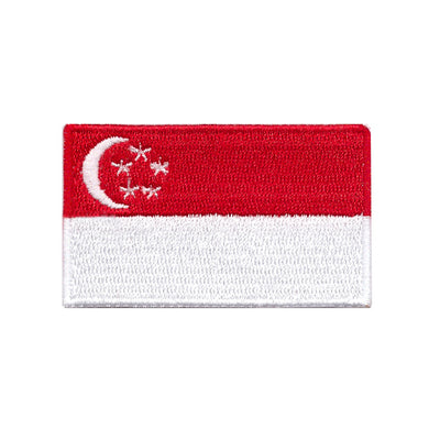 Singapore Country Iron On Patch Sew On Transfer