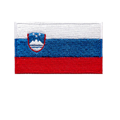 Slovenia National country flag Iron On Patch Sew On Transfer
