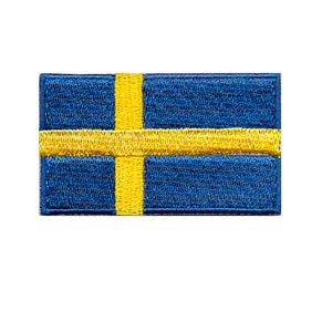 Sweden Country Flag Iron On Patch Sew On Transfer