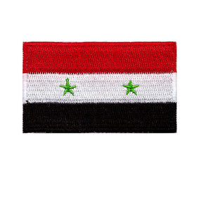 Syria Country Flag Iron On Patch Sew On transfer