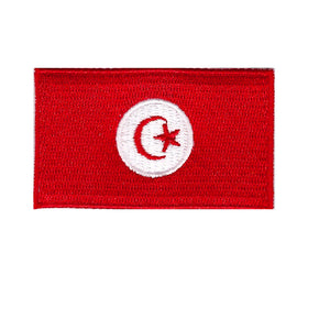 Tunisia Country flag iron on patch sew on transfer