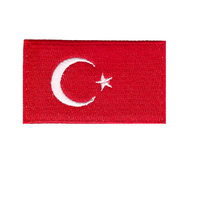 Turkey country Iron On Patch Sew ON Transfer