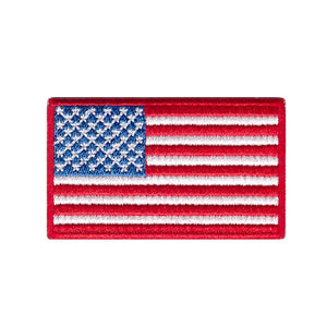 usa flag stars and stripes flag iron on patch sew on transfer
