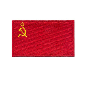 USSR Soviet Union Flag iron on patch Sew on transfer