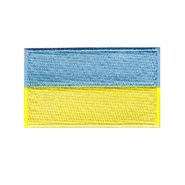 Ukraine country Iron on patch sew on transfer patch