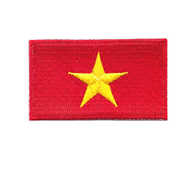 Vietnam national Country Iron On Patch sew on transfer