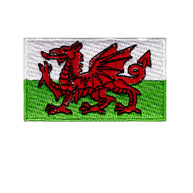 Wales country iron on patch sew on transfer flag of st david
