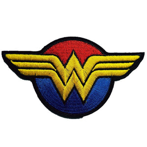 wonderwoman movie comic book logo Iron on patch sew on transfer