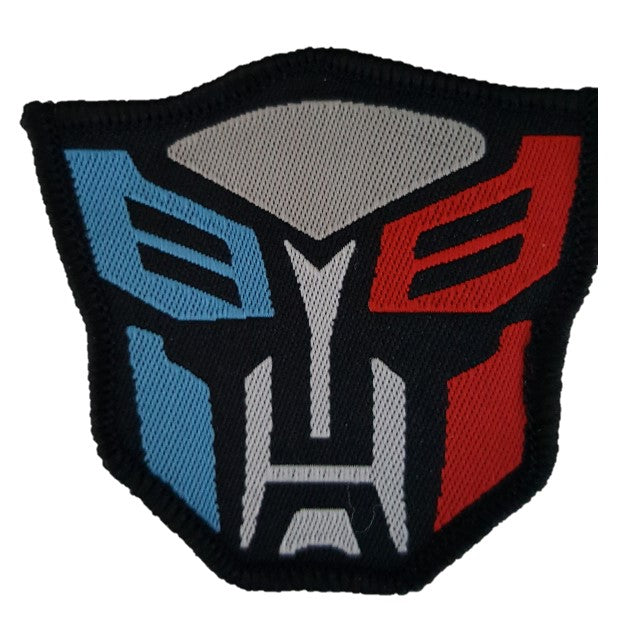 transformers autobots iron on patch sew on transfer