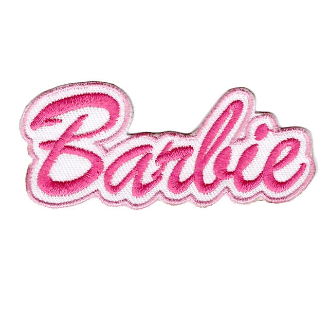Barbie Logo Barbie Doll TV Show Iron On Patch Sew On Transfer