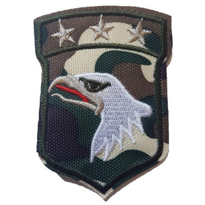 Camo 101ST Airborne Rangers Military style Airborne Rangers patch Iron On Patch Sew On Transfer