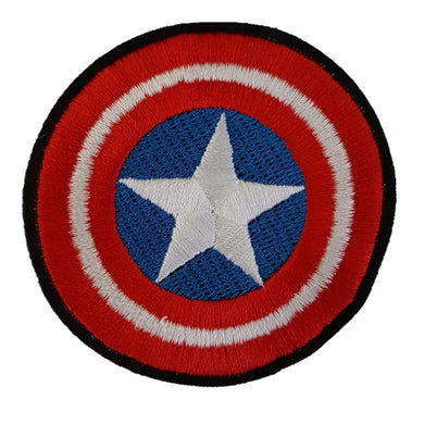 Captain America shield symbol Iron On Patch Sew On Transfer