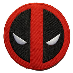 Large Marvel Deadpool Movie Deadpool Logo Iron On Patch Sew On Transfer