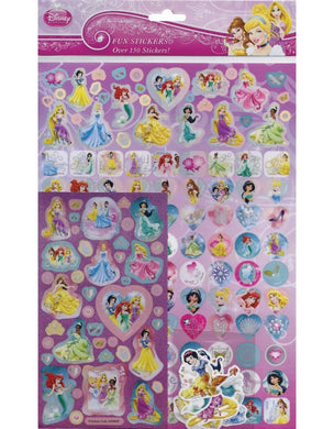 Disney Princess - Mega Pack sticker pack over 150 stickers