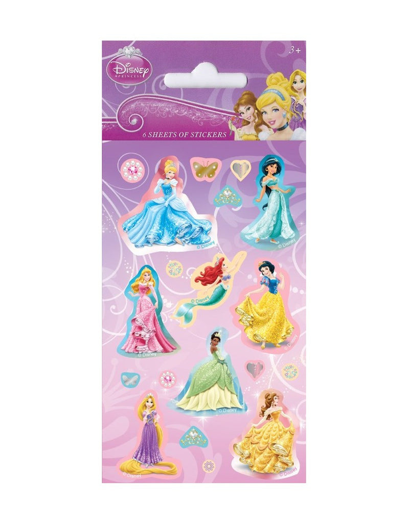 World of stickers peppa pig wall sticker 800 disney princess party bag stickers 6 sheets of stickers amipublicfo Images