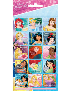 Disney Princess - Small Reward Stickers (15 stickers)