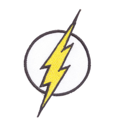 The Flash Lightening Bolt logo Iron on patch sew on transfer