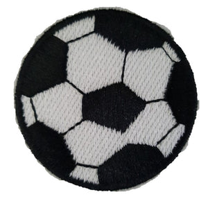 Football Soccer Ball Iron On Patch