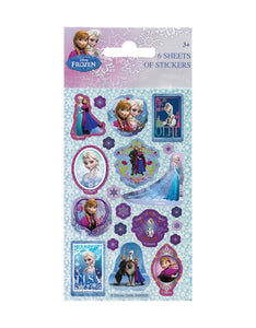 Disney's Frozen - Party Bag Stickers (6 Sheets of Stickers)