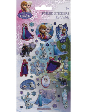 Disney's Frozen - Foiled Stickers 1 sheet