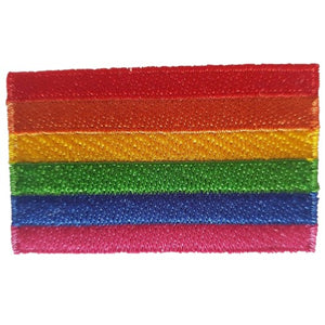 Rainbow Gay Pride LGBT Iron On Patch Sew On transfer LGBT