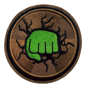 hulk smash fist bump iron on patch sew on transfer