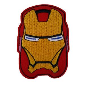 Iron Man Head Iron On Patch Sew On transfer