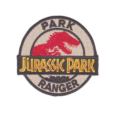 Jurassic Park Movie Ranger Iron On Patch Sew on Transfer - Jurassic World Park Ranger