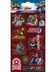 Marvel's The Avengers - Foiled Stickers 1 sheet