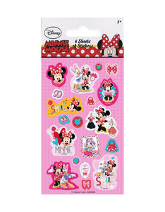Minnie Mouse - Party Bag Stickers (6 Sheets of Stickers)