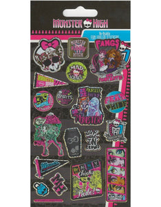 Monster High - Foiled Stickers 1 sheet