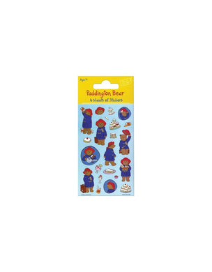 Paddington Bear - Party Bag Stickers (6 Sheets of Stickers)