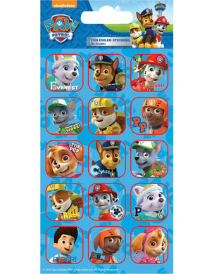 Paw Patrol Captions - Foiled Stickers 1 sheet