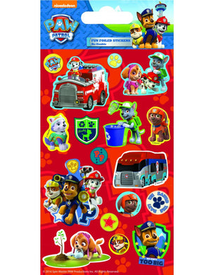Paw Patrol - Foiled Stickers 1 sheet