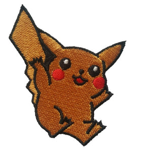 pikachu pokemon iron on patch sew on transfer