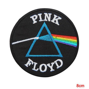 pink floyds dark side of the moon iron on patch sew on transfer