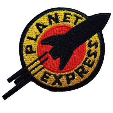planet express futurama iron on patch sew on transfer