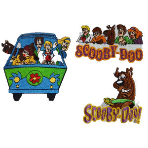 scooby doo triple pack of Iron On Patches