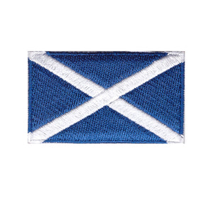 Scotland Country Flag Iron On Patch