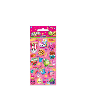 Shopkins - Party Bag Stickers (6 Sheets of Stickers)