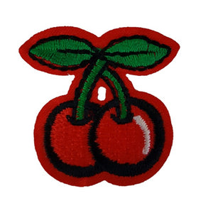 Cherry Iron on Patch Sew ON Transfer