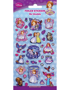 Sofia the 1st - Foiled Stickers 1 sheet